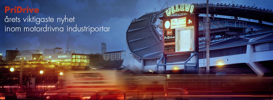 PriDrive, årets viktigaste nyhet inom motordrivna industriportar