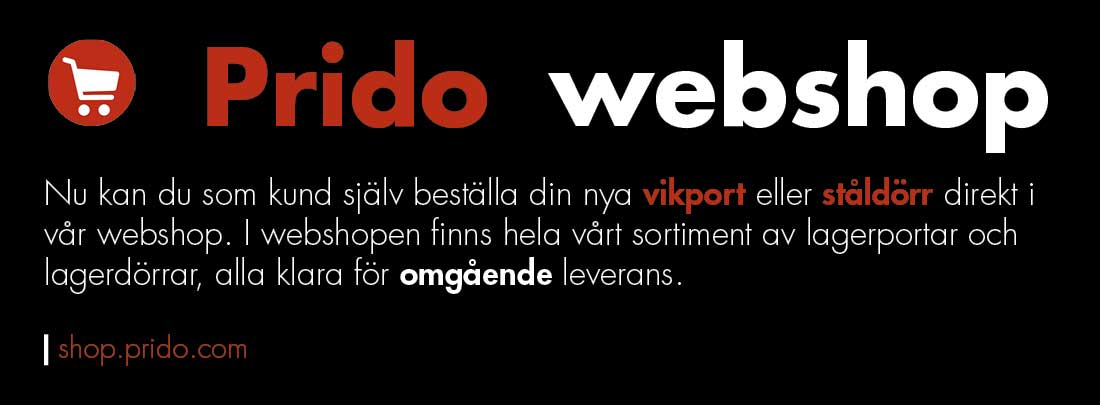 Prido-webshopp